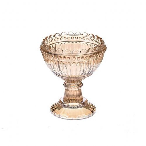 Heritage Footed bowl Antique Gold